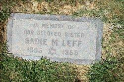 Sadie M. Leff