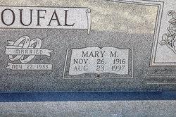 Mary Margaret <I>Hajek</I> Coufal