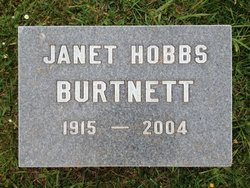 Janet <I>Hobbs</I> Burtnett