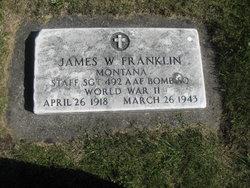 SSGT James W Franklin
