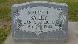 Maude Ellen <I>Garner</I> Bailey