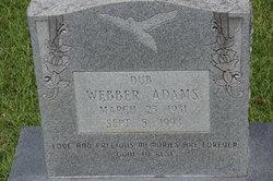 "Webber ""Dub"" Adams"