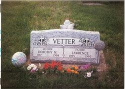 """Dorothy Marie """"Dottie"""" <I>Jaeger-Welsh</I> Vetter"""