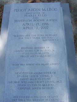 Peggy Elaine Aiken McLeod (1916-2007) - Find A Grave Memorial
