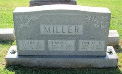 Clara A <I>Arnold</I> Miller