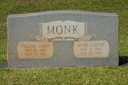 """Susan Anderson """"Sudie"""" <I>Gaston</I> Monk"""