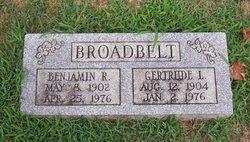 Gertrude L Broadbelt
