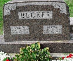 Bertha <I>Bachmann</I> Becker