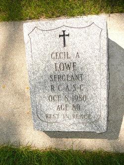 Cecil Arthur Lowe