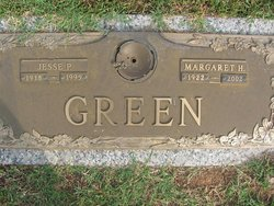 "Margaret Louise ""Maggie"" <I>Hall</I> Green"