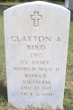 Clayton A Bird