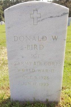 Donald W Bird