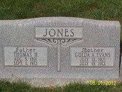 Golda Alice <I>Evans</I> Jones