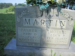 Lucy Frances <I>Johnson</I> Martin