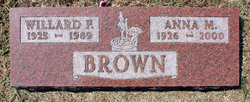 Anna Marie <I>Michaelsen</I> Brown