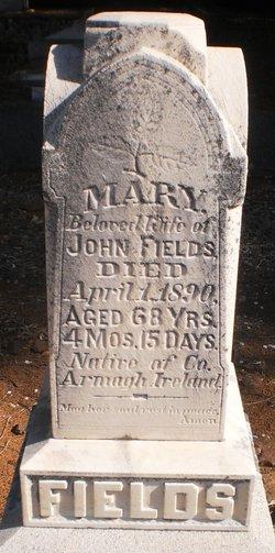 Mary <I>Devlin</I> Fields