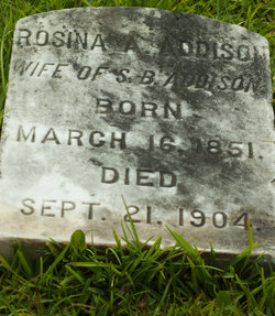 Rosina A <I>Threeton</I> Addison
