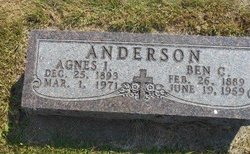 Agnes Irene <I>Peck</I> Anderson