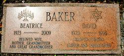 """Beatrice """"Bea"""" <I>Corn</I> Baker"""