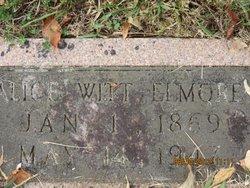Alice <I>Witt</I> Elmore