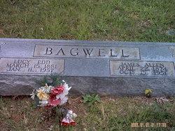 "Lucy Edwina ""Edd"" <I>Castleberry</I> Bagwell"