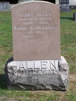 Abbie A. <I>Meacham</I> Allen