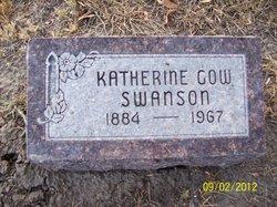 """Katherine E. """"Kittie"""" <I>Nurse</I> Gow Swanson"""