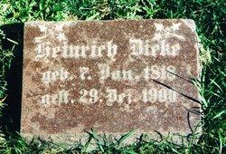 """Ernst Heinrich Wilhelm """"Henry"""" Dieke"""