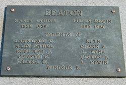 Lucius Edwin Heaton, Sr