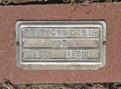 Patricia Marie <I>Pigeon</I> Ori