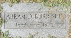 Dr Abram D. Burr