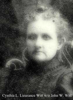 Cynthia L <I>Lieurance</I> Witt