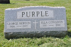 Ella <I>Congdon</I> Purple