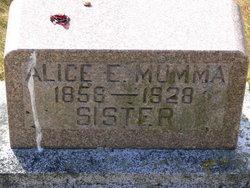 Alice Elizabeth Mumma