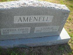 Sophia Belle <I>Davis</I> Amenell