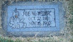 Joe W Wilde