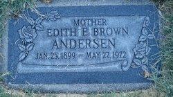 Edith Ellen <I>Brown</I> Andersen
