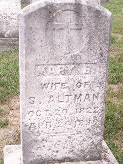 Mary Barbara <I>Sched/Shade</I> Altman