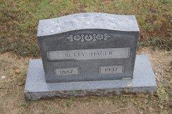 Betty <I>Vines</I> Hager
