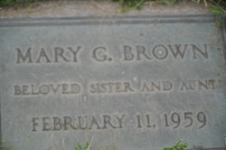 """Mary """"Mamie"""" Brown"""