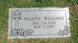 Pauline <I>Williams</I> Barnes