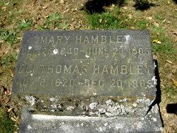 Rev Eli Thomas Hamblet