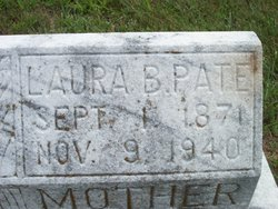 Laura <I>Jennings</I> Pate