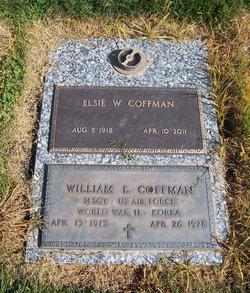 Elsie Winetta <I>Buckingham</I> Coffman