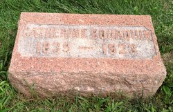 Catherine Suzanne <I>Grisier</I> Bourquin