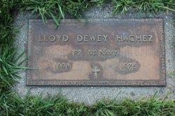 Lloyd Dewey Hachez