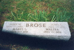 Mabel Louisa Alice <I>Crew</I> Brose