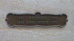 """India """"Donnie"""" <I>Morgan</I> Behrens"""