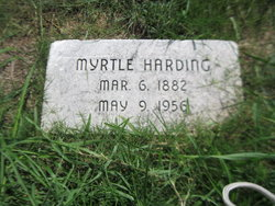 Frances Myrtle <I>Merrell</I> Harding