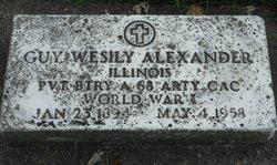 Guy Wesily Alexander